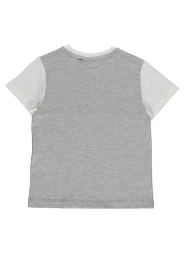 Hummel Çocuk Tişört Jacob 910919-9003 Beyaz